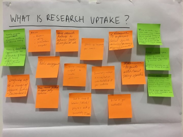 What is research uptake, Kilifi, 2017